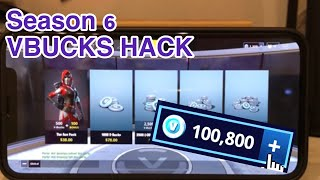 How to Get Unlimited Vbucks In Fortnite Season 6 | Fortnite Vbucks Hack