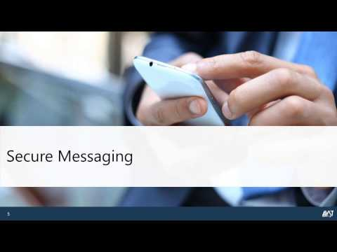 2016 AVST Webinar - Secure Messaging  Top IT Priority