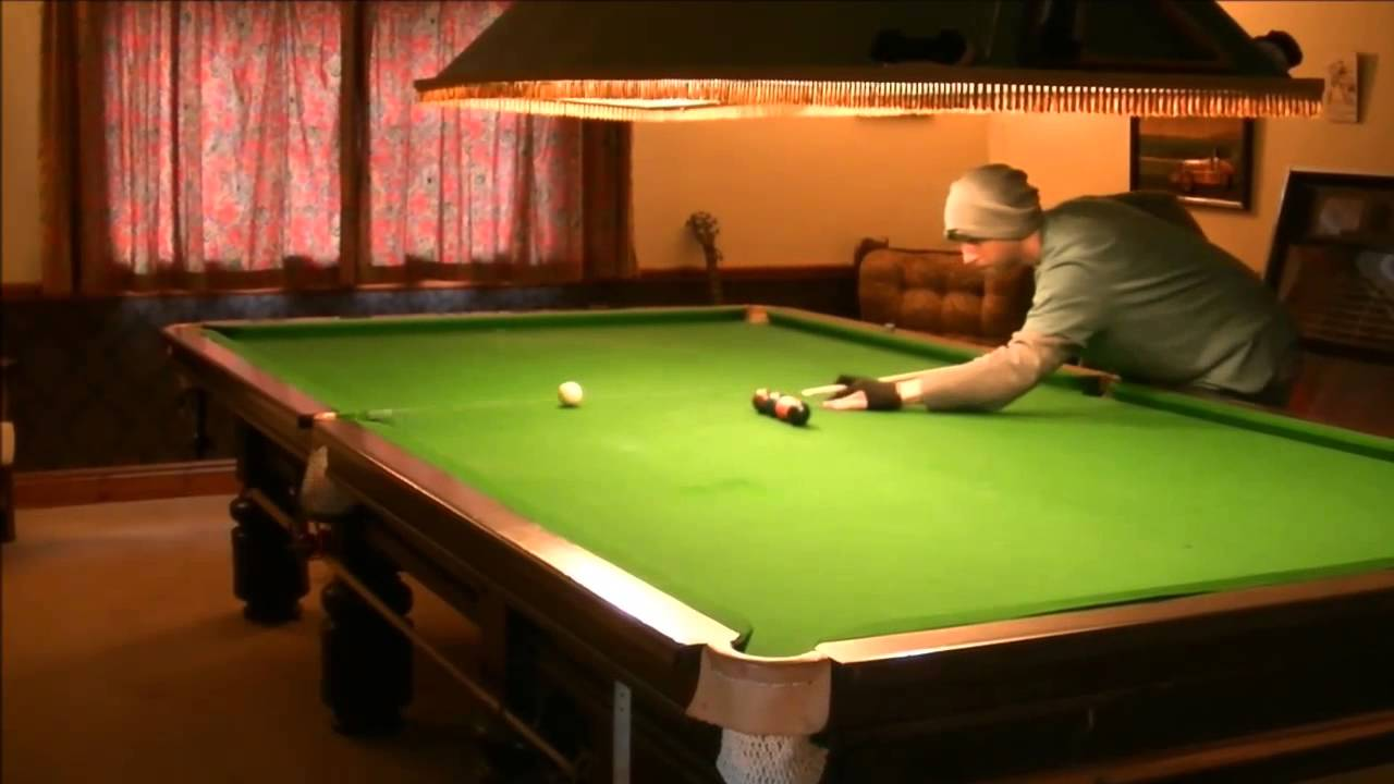 Snooker Session Vol II Pool Tricks On A 12 Foot Snooker Table