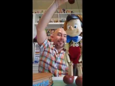Pinocchio Marionette Toy Unboxing
