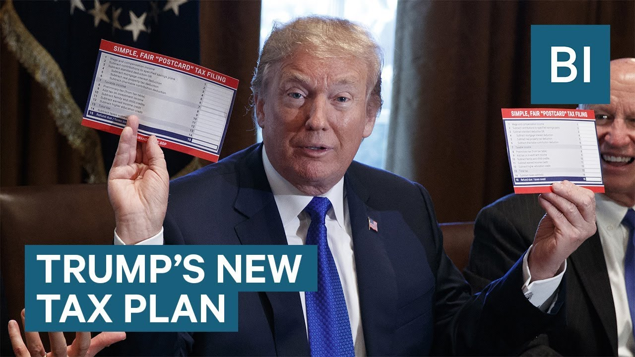 How Trumps tax plan could change your take-home pay