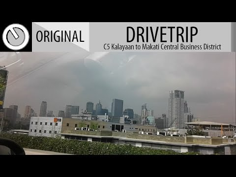 [DRIVE TRIP] C5 Kalayaan to Makati Central Business District