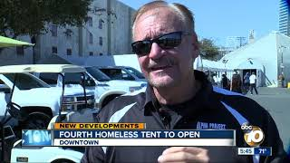 Fourth San Diego homeless bridge shelter to open