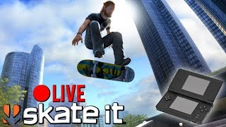 Lets Play EA SKATE IT For Nintendo DS! | LIVESTREAM