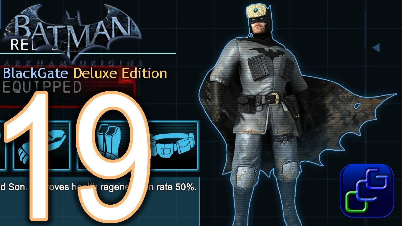 BATMAN Arkham Origins BlackGate Deluxe Edition Walkthrough- Part 19 - RED SON Batsuit - YouTube : batman arkham origins blackgate costumes  - Germanpascual.Com