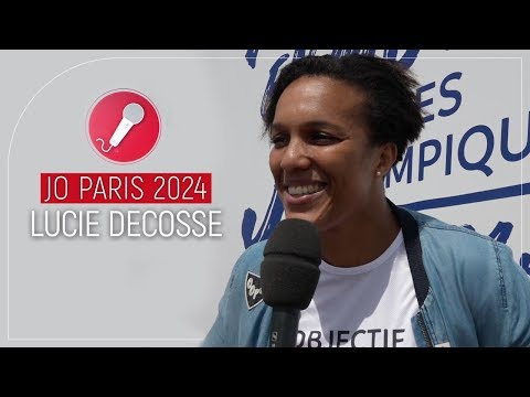 [Interview] La judokate Lucie Decosse soutient Paris 2024
