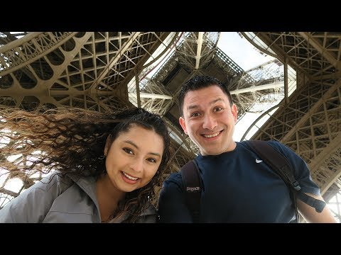 Going up the Eiffel Tower and exploring around Paris!