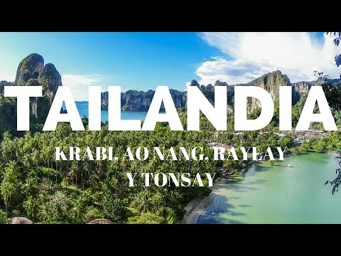 Viviendo en Tailandia. Ao Nang / Excursion a Railey. Tailand