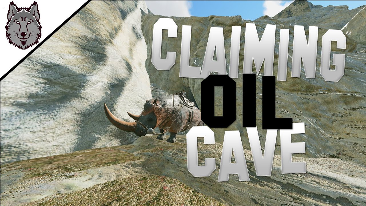 Claiming Oil Cave On A Capped Server! - ARK Survival Evolved