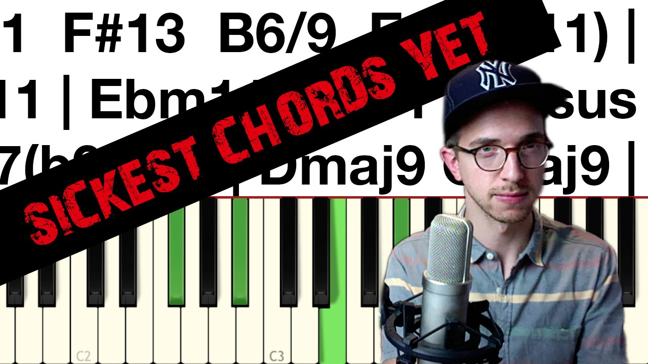 Hip Hop Jazz Piano Tutorial [The Sickest Chords]