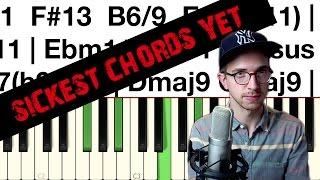 hip hop jazz piano tutorial the sickest chords