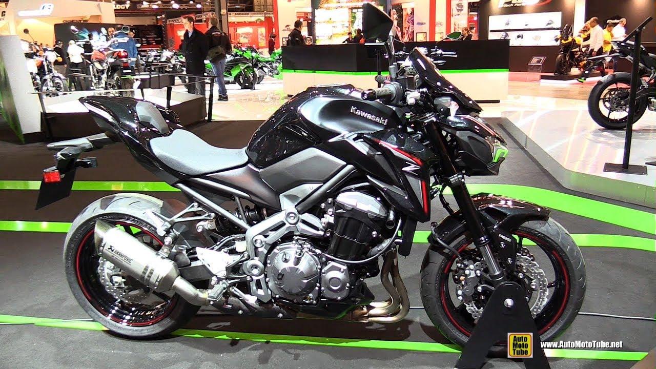 2018 kawasaki z900 a2 walkaround 2017 eicma motorcycle exhibition youtube. Black Bedroom Furniture Sets. Home Design Ideas
