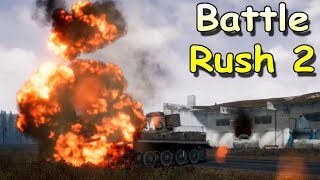 Реалистичный симулятор второй мировой войны 2018! BattleRush 2 ОБСТРЕЛ ИЗ ТАНКОВ!