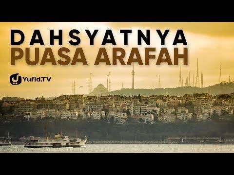 Puasa Arafah Penghapus Dosa Anda - Poster Dakwah Yufid TV