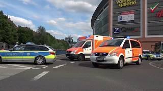 Tragischer Unfall in Hagener Innenstadt - PKW gerät auf Gehweg - Kleinkind im Kinderwagen erfasst