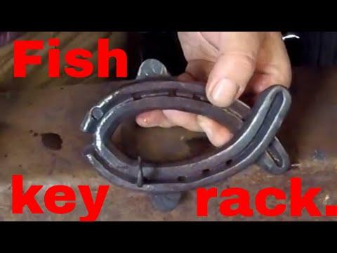 Fish key rack.