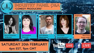 Industry Q&A - Comedy Producers Panel - London Web Fest