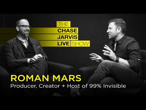 How To Stop Waiting And Start Doing w/ Roman Mars | Chase Jarvis LIVE