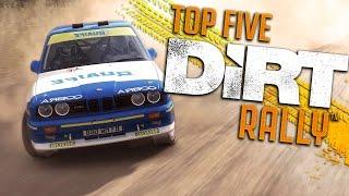 DiRT Rally Top 5 Plays - Episode 2: FRONT FLIPS, BEST FLIPS!
