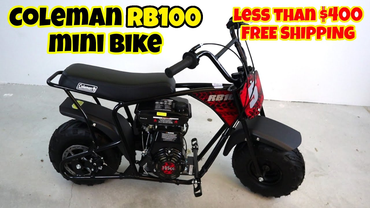 BEFORE YOU BUY Coleman RB100 mini bike, unboxing assembly and review
