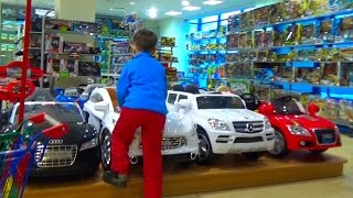 VLOG Поход в магазин за игрушками  children's toy store shopping(, 2015-02-13T08:13:14.000Z)