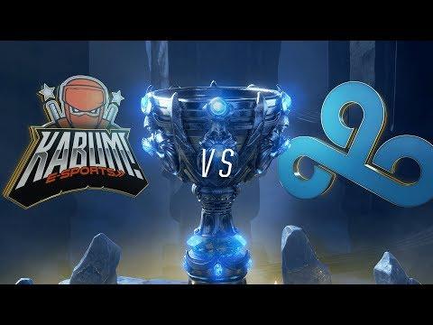KBM vs. C9 | Play-In Groups | 2018 World Championship | KaBuM! e-Sports vs. Cloud9 (2018)