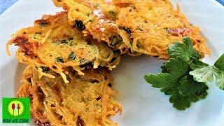 Драники с сыром как чипсы Короткий видео рецепт How we cook Patates mucveri tarifi