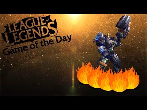 League of Lengeds: Jayce Flame Horizon