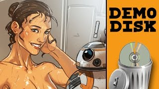 STAR WARS PORNO - Demo Disk Gameplay