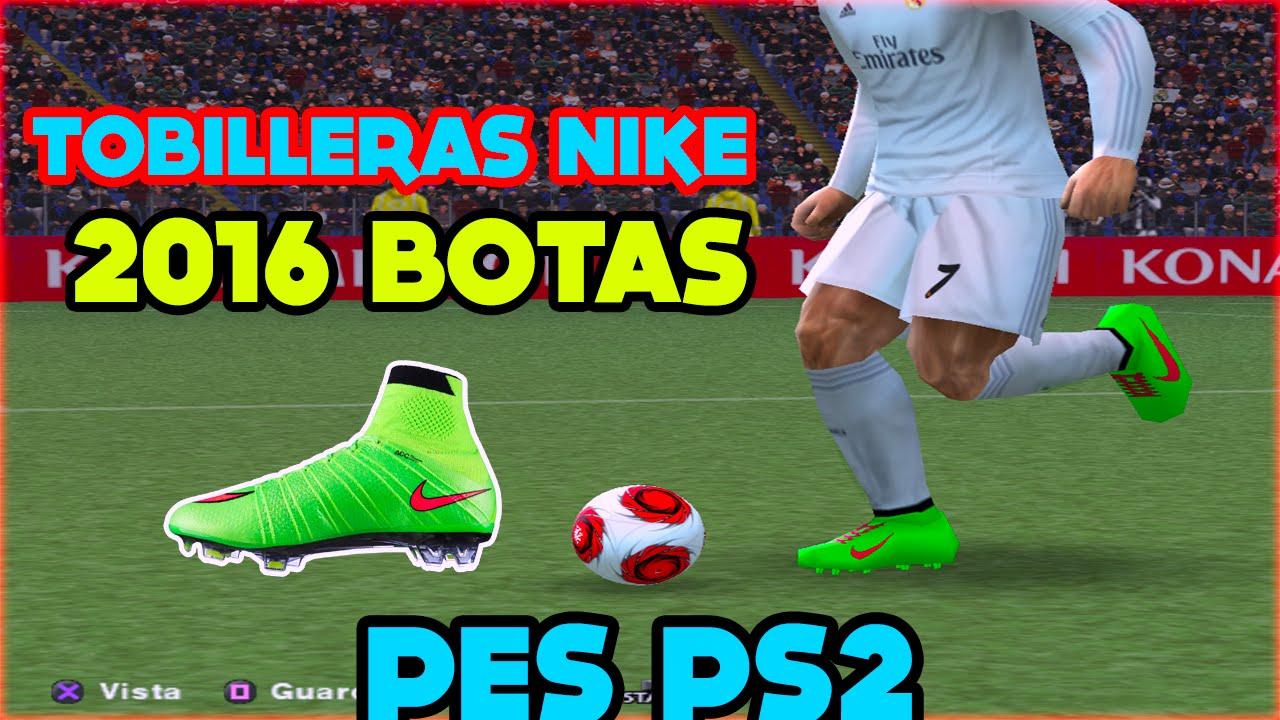 e75b7679c4a91 Tobilleras Botas Nike CR7 Pes ps2 - YouTube