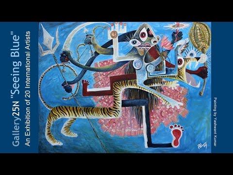 """Gallery 25N """"Seeing Blue"""" Fine Art Exhibition"""