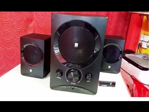 Iball Tarang Lion 2 1 Speakers Unboxing Testing Youtube