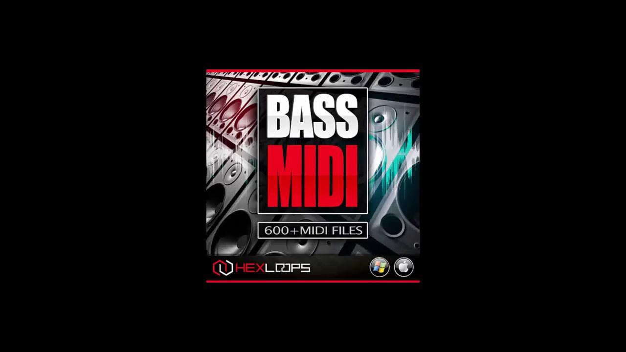 BASS MIDI LOOPS