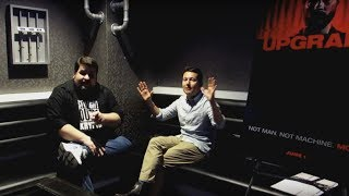 UPGRADE Interview With Writer/director Leigh Whannell (co-creator Of SAW And INSIDIOUS)