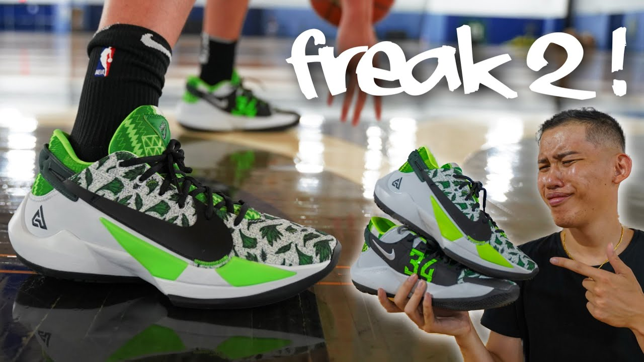 Nike Zoom Freak 2 Performance Review Testing Giannis Newest Basketball Shoe Youtube