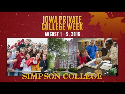 Visit Simpson College During Iowa Private College Week