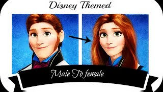 DISNEY Gender-Swap