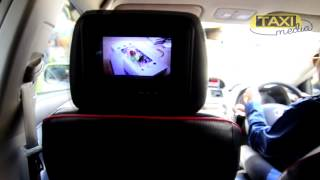 AIS ads in taxi by Taximedia Thailand Thumbnail