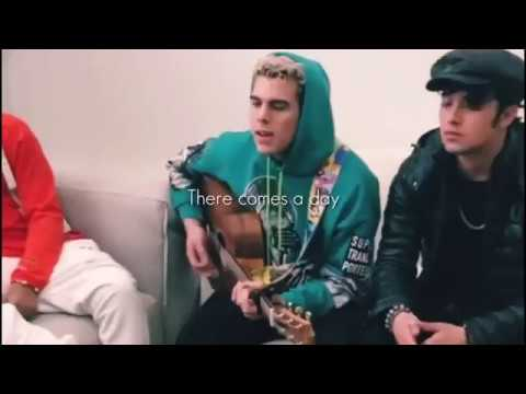 CNCO cantando IT'S GONNA BE ME - NSYNC + [LETRA]