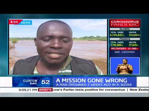 5 people drown in River Nzoia after trying to recover body of man who drowned 2 weeks ago