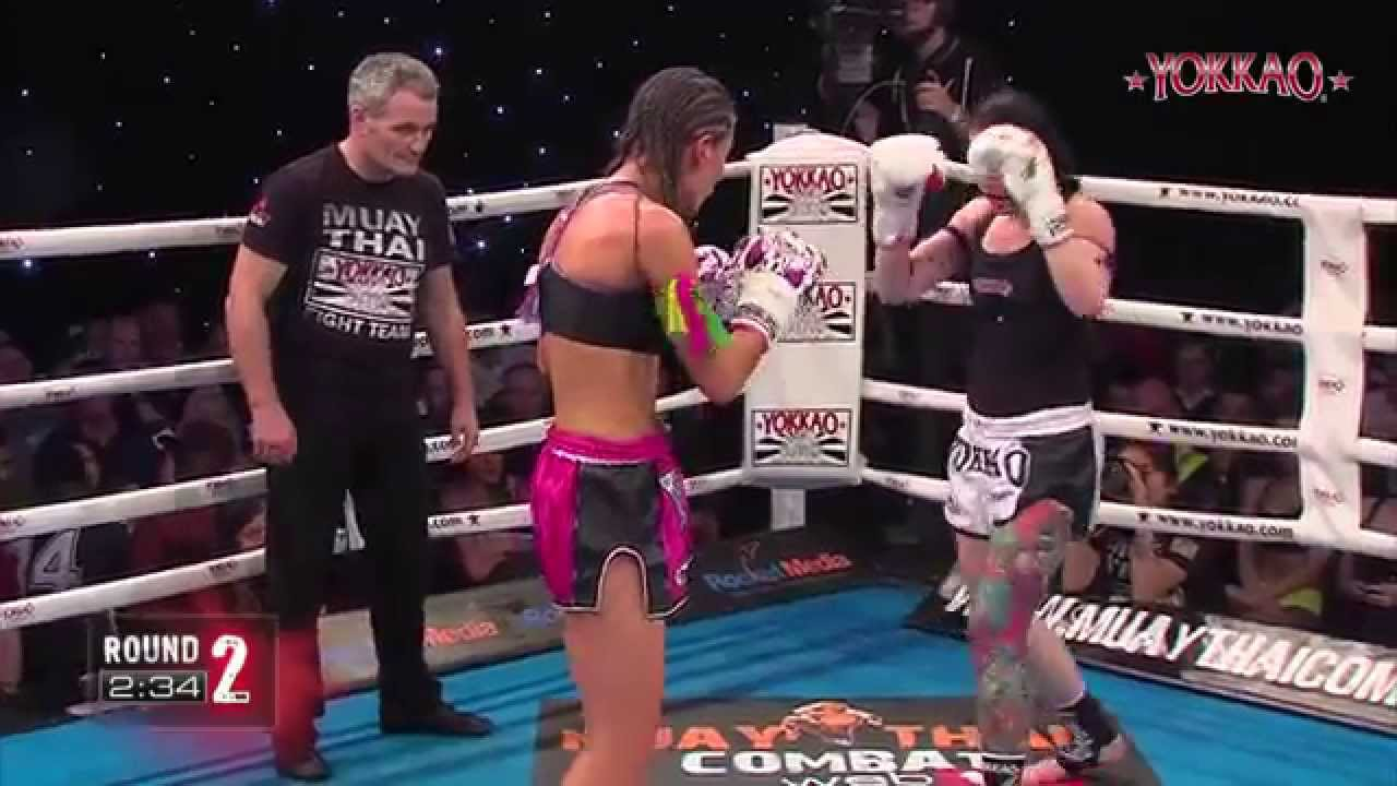 YOKKAO 13 Female Fight: Bernise Alldis vs Tanya Merrett - Muay Thai  @yokkaoboxing