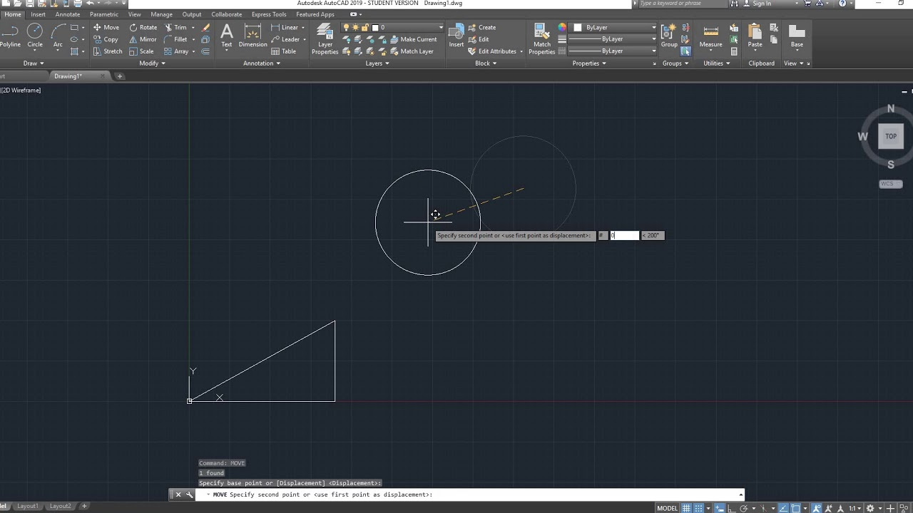 Autocad 2d basics tutorial to draw a simple floor plan (fast and.
