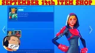 Fortnite Item Shop (September 14th) | *NEW* MOXIE SKIN + CLOBBER AXE PICKAXE!