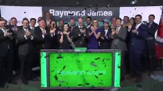 Raymond James opens Toronto Stock Exchange, February 25, 2020