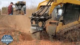 Stump Removal Case Study : Blue Diamond Attachments