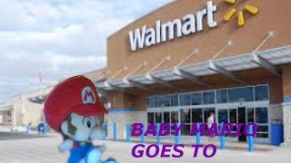 Baby Mario goes to Walmart