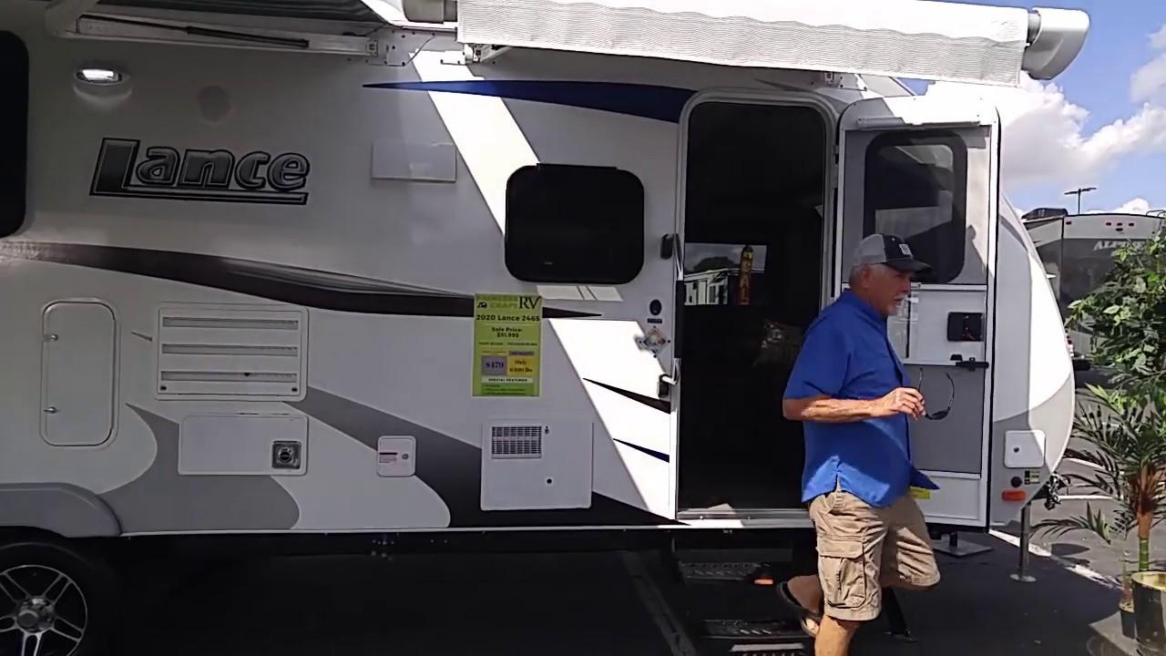 Pomona Rv Show 2020.Lance Travel Trailer Model 2465 2020 6400 Lbs