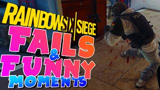 Rainbow Six Siege - FAILS & FUNNY moments!