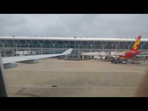 IB6888: Shanghai - Madrid: taxi and take off from Sahnghai Airport