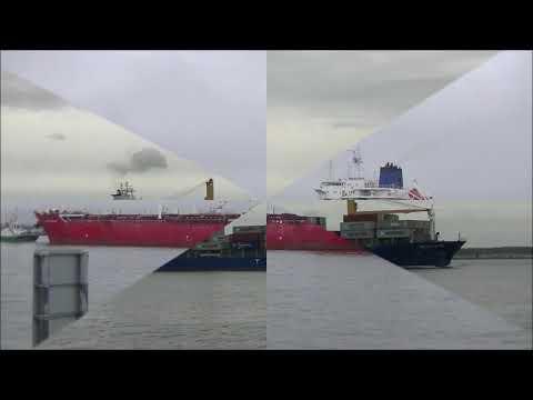 Shipspotting in Dublin - Aug. '17.